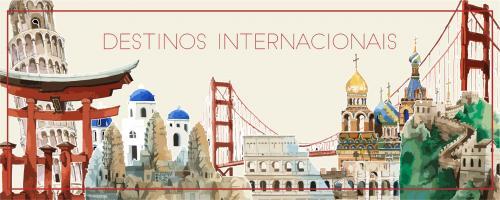 Destinos Internacionais