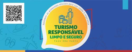Turismo responsável limpo e seguro